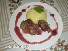 Fotorecept: Diviačie na šípkovej omáčke Beef, Food, Meat, Essen, Ox, Ground Beef, Yemek, Steak, Meals