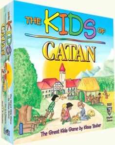 The Kids of Catan - WE NEED THIS FOR URBAN'S FIFTH BIRTHDAY!