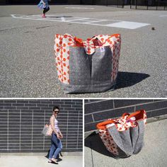 Watch out, street thugs; with boundless compartments, this DIY diaper bag will be impossible to search through (unless you've made it yourse...