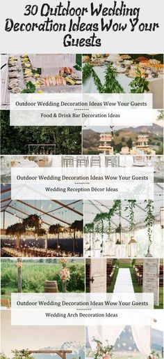 30+ Outdoor Wedding Decoration Ideas Wow Your Guests / cheap wedding ideas #gardenweddingBackdrop #gardenweddingArch #gardenweddingPhotos #gardenweddingEnchanted #gardenweddingVenues