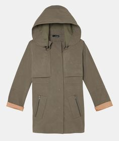 The Kooples - Double collar parka