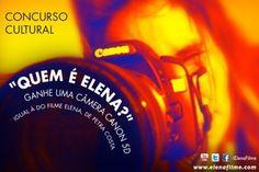 Vote na minha foto!! I just entered the Concurso Cultural - Quem é Elena? contest from Elena, o Filme.