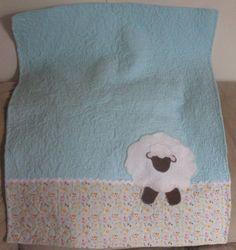 cute sheep quilt
