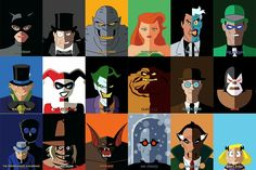 The Batman the Animated series villains