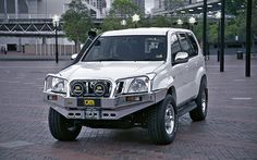 Toyota 120 Series Prado Alloy Bull Bar   TJM Australia   4x4 Accessories