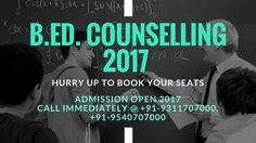 Get detailed information on CRSU B.Ed. counseling dates, admission process and etc. Contact us for more information.