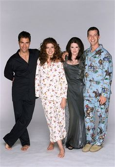 """Will & Grace"" cast (Eric McCormack, Debra Messing, Megan Mullally and Sean Hayes)"