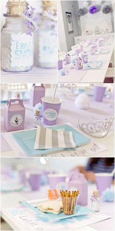 Frozen Themed Birthday Party!