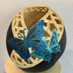 Gourd Art by Claudia Herber