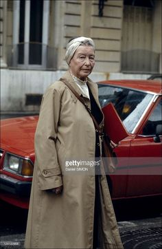 Simone de Beauvoir in Paris, France on April Get premium, high resolution news photos at Getty Images Jean Paul Sartre, Le Castor, Feminist Theory, August Sander, Writers And Poets, Book Writer, Advanced Style, April 14, Iconic Women