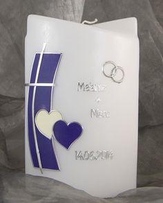 Hochzeitskerze Kerze zur Hochzeit  Traukerze 16440