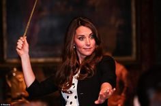 The Duchess Kate at the Warner Bros. Studio Tour London- Harry Potter