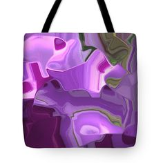 'Dancing On The Edge Of Reality' by Lisa S. Baker #abstract #carryon #tote #totes #totebag #totebags