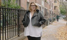 It's hard to convince a plus size shopper that she deserves nice things. I speak with authority on this, as I'm currently recovering from over two decades of beelining to the back of any store that carried my size, sifting through the racks to find… Expensive Clothes, Sustainable Fabrics, Carry On, Raincoat, Plus Size, Jackets, Beauty, Nice Things, Store