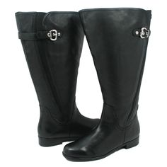 Rose Petals Trudy-2 Super Queen Wide Calf Black Leather [R] - $289.99 : Ladies Wide calf boot and Stylish wide shaft boots Customized Boots To Fit your calves