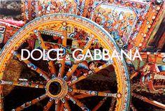 Dolce & Gabbana Sicilian cart