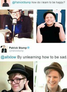 Patrick Thats so deep...