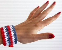 $10 #bracelet #handmade #Etsy #fashion #july4th #accessories #jewellery