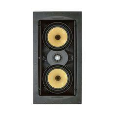 "SpeakerCraft - Profile Series Dual 5-1/4"" Passive 2-Way In-Wall Speaker (Each) - White"