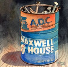 Jeff Atnip's Art: Can of Nails