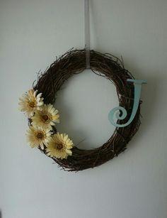 Spring wreath-diy