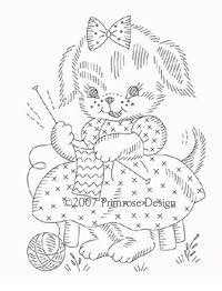 Embroidery patterns for animal quilt blocks - HOW CUTE!