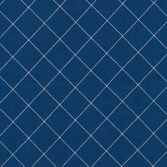 Carolyn Friedlander - Doe - Crisscross in Blue