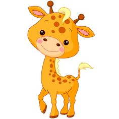 Cute Baby Giraffe Cartoon | Here| Here is a baby giraffe as part of the animal sketches. Description from pinterest.com. I searched for this on bing.com/images
