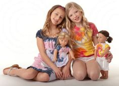 Let your little girl design a dress for her & her doll! {Summer 2011} http://ow.ly/8xTmk