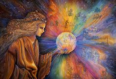"""The Oracle 2"" par Josephine Wall"