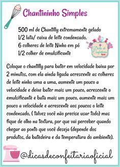 Chantininho Simples Brazillian Food, Pastel Cakes, Cake Recipes, Dessert Recipes, Coconut Smoothie, Cake Boss, Strawberries And Cream, Cake Designs, Easy Desserts