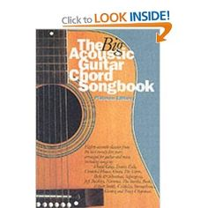 The Big Acoustic Guitar Chord Songbook: Platinum Edition Acoustic Guitar Chords, Violin, Amazon, Big, Music, Books, Free, Authors, Musica