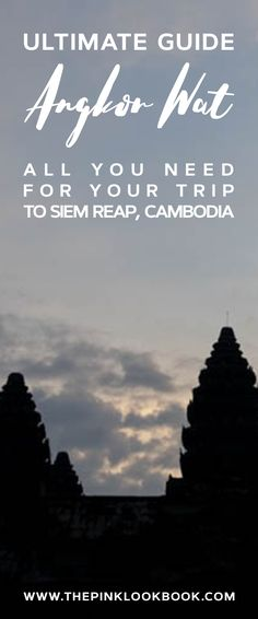 Let's keep the #Cambodia posts coming!! My Ultimate Guide for Angkor Wat and Siem Reap is now online! Before my trip to #angkorwat, I went through countless blog posts and #youtube videos to plan our itinerary. I have put together all my tips for you, so you don't need to dig into all the online material. My #siemreap itinerary and more posts (and, of course, a video) are already lined up, stay tuned!