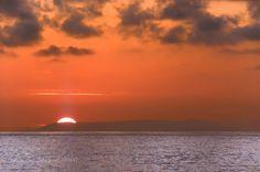 sunset by memba  sunset Sonnenuntergang Italien Meer Wolken Sardinien memba