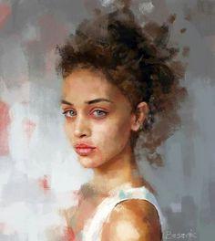 Drawing Woman Face Illustration Figurative Art Ideas For 2019 L'art Du Portrait, Female Portrait, Female Art, Female Head, Female Faces, Painting People, Figure Painting, Figure Drawing, Female Face Drawing