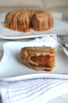 Seasonal Apple Cake with Cinnamon Glaze