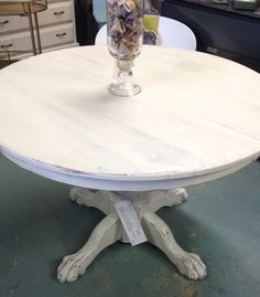 Paris Grey Washed with Old White Chalk Paint ®by Annie Sloan