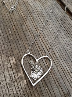 Marine necklace / Marine Wife / Marine Mom / by CADETcouture, $28.50 want one for me,my mom, and my brothers girlfriend!