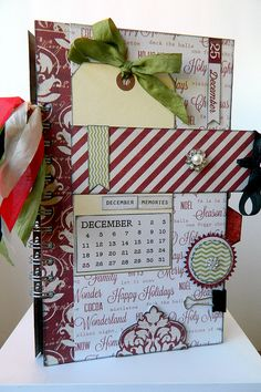 Scrapfest 2012 - Teresa Collins - Christmas Cottage Mini Album, via Flickr.