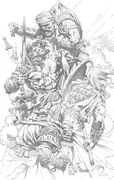 Seriously Seriously Seriously Good Conan Art. - Page 15 - The Illustrated Conan - The REH Forum - Page 15