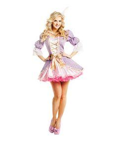 Look at this #zulilyfind! Purple & Pink French Beauty Costume Set - Women #zulilyfinds
