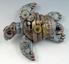 clockwork gear turtle