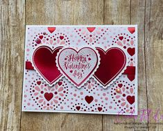 Valentines Greetings, Valentine Greeting Cards, Love Valentines, Valentine Crafts, Greeting Cards Handmade, Heart Cards, Card Maker, Love Cards, Anniversary Cards
