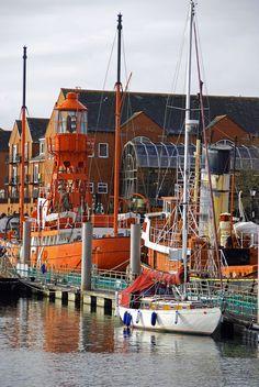 Swansea Marina, Wales, UK  (by Paul Tarrant)