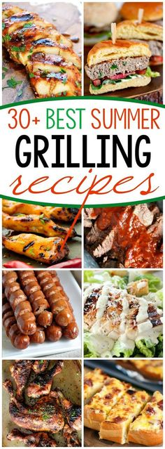 31 Grilling Recipes for Summer It's too hot to cook indoors! Fire up that grill and try one of these 31 Grilling Recipes for Summer! Your air conditioning bill will thank you. The post 31 Grilling Recipes for Summer appeared first on Welcome! Summer Grilling Recipes, Healthy Summer Recipes, Barbecue Recipes, Grilling Ideas For Dinner, Recipes For The Grill, Vegan Recipes, Fast Recipes, Best Food To Grill, Easy Grill Recipes