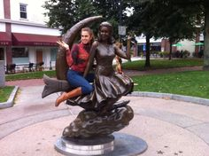 Samantha statue (from Bewitched) in Salem, Massachusetts