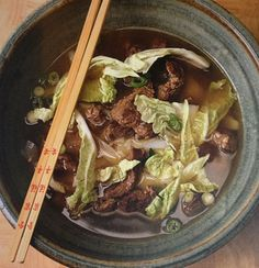 Beef Noodle Soup--Healthy!!