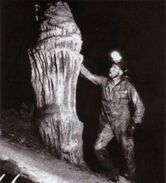 Neil Armstrong, inside the Tayos Cave, 1976