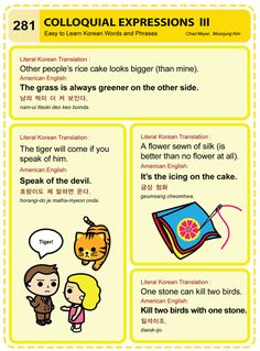 281 Learn Korean Hangul Colloquial Expressions 3