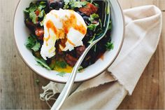 Black Bean and Poached Egg Bowl - Sprouted Kitchen